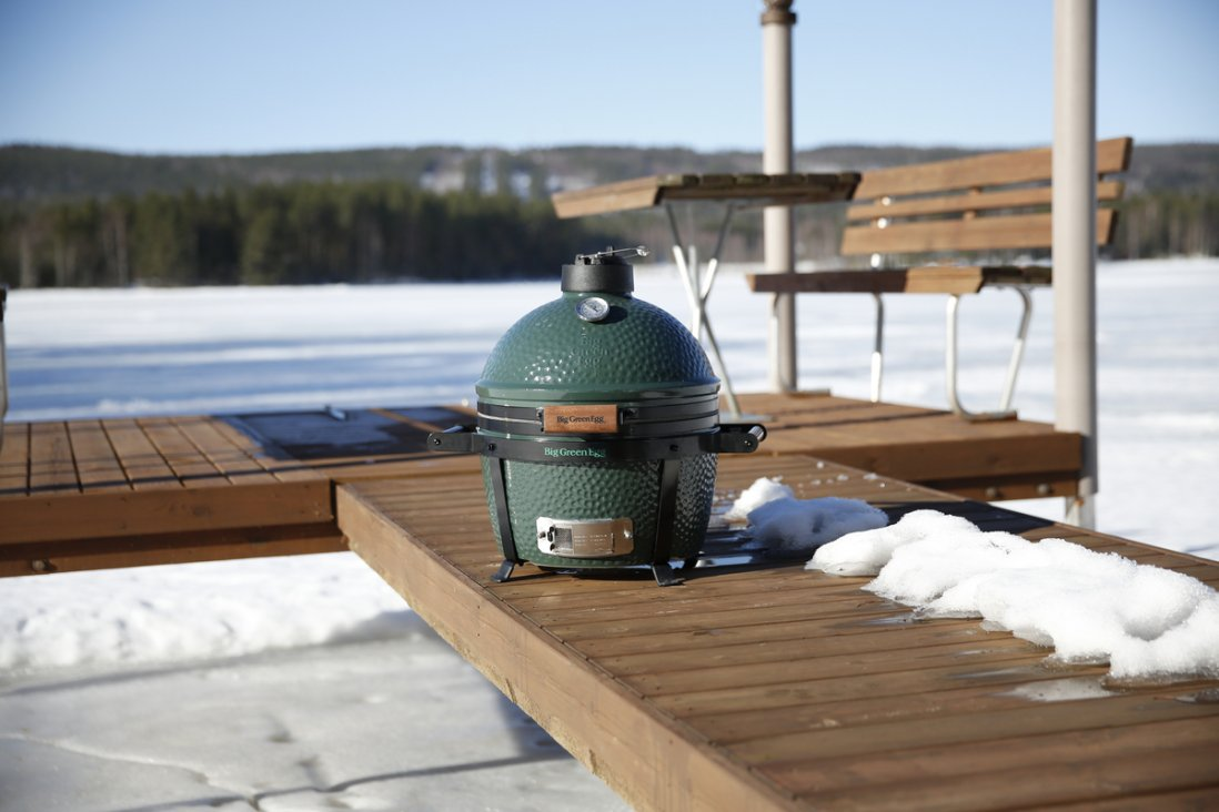 Big Green Egg télen